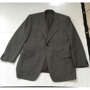 Canali Propasta One Button Suit Jacket Blazer 54R